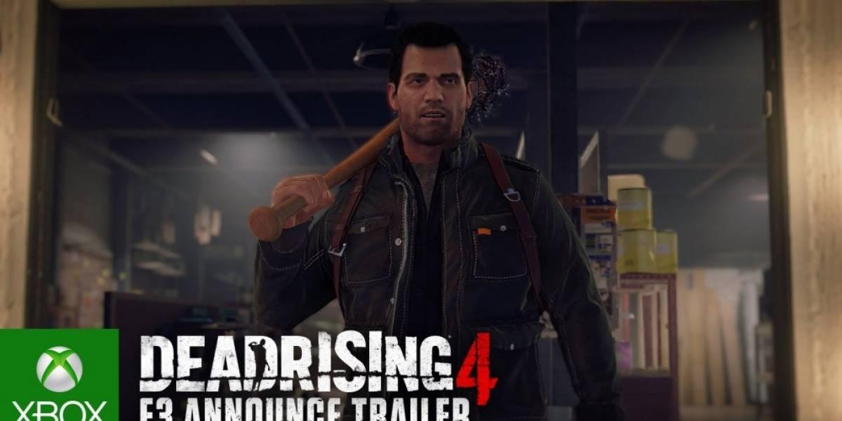Dead Rising 4 es anunciado para Xbox One y PC #E32016