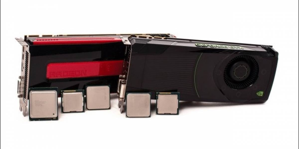 NVIDIA Kepler vs AMD Graphics Core Next: Dependencia del CPU