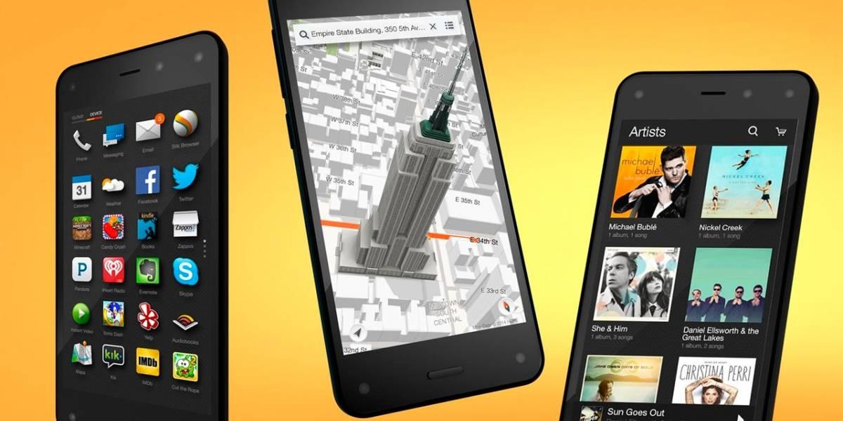 Amazon ya prepararía al sucesor del Fire Phone