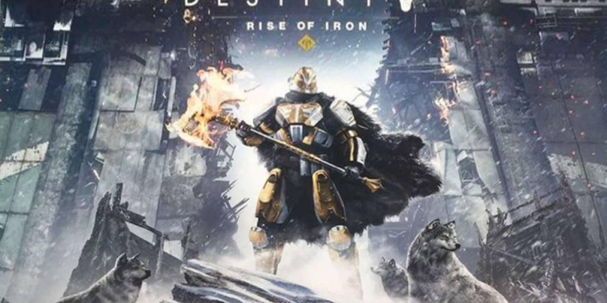 Destiny: Rise of Iron se anuncia oficialmente y presenta tráiler