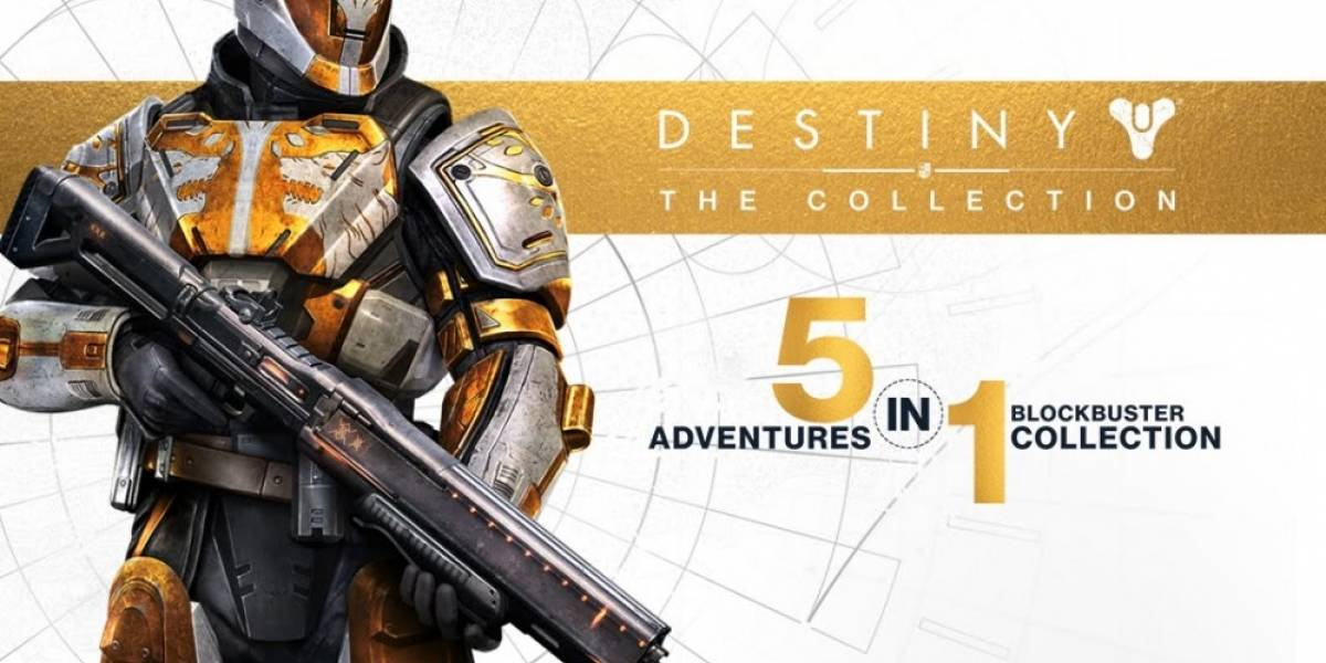 Confirman oficialmente Destiny: The Collection