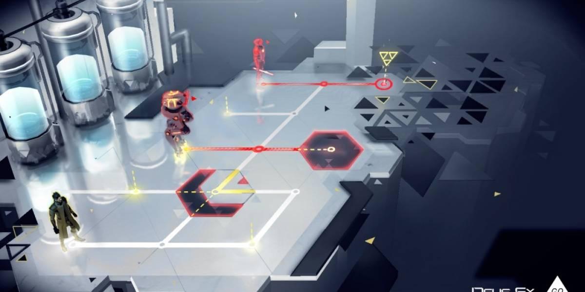 Deus Ex Go llegará a los móviles este año