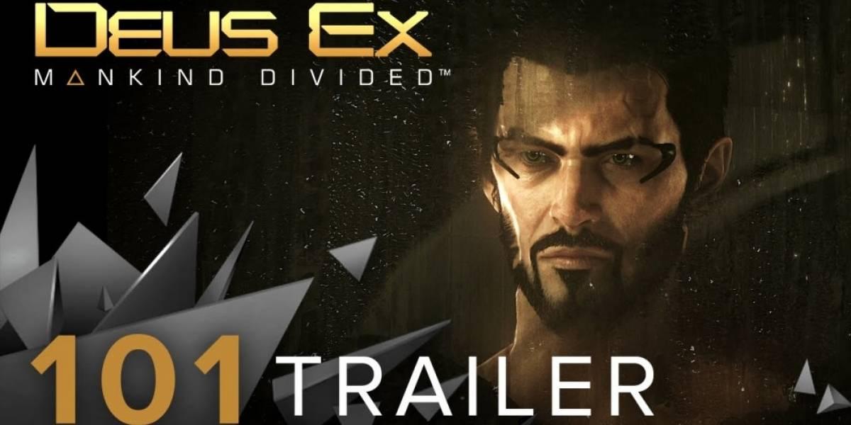 Todo lo que hay que saber de Deus Ex: Mankind Divided en un solo tráiler