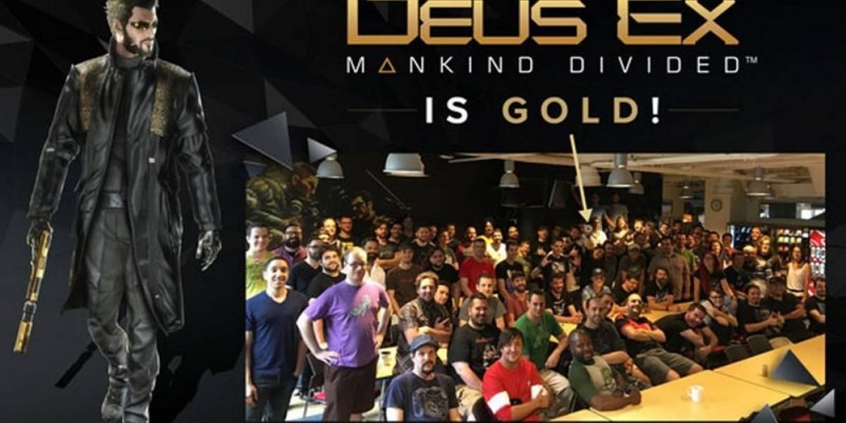 Completan el desarrollo de Deus Ex: Mankind Divided