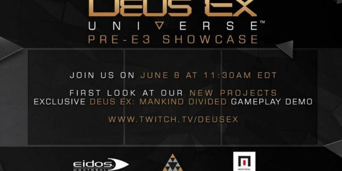 Habrán más anuncios de Deus Ex antes de E3 2016