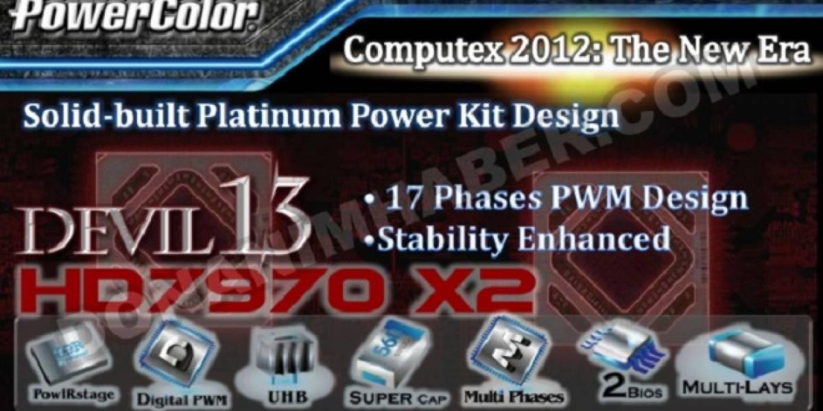 Más detalles sobre la tarjeta de video PowerColor Devil 13 HD 7970 X2