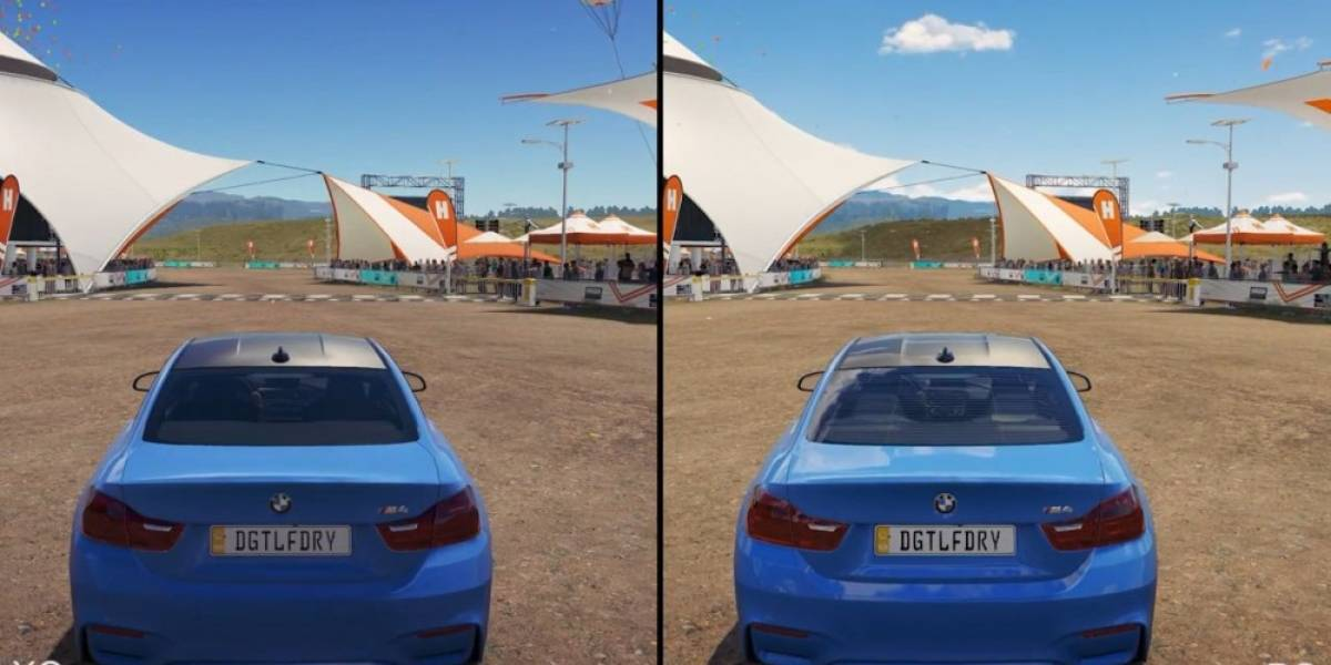 Digital Foundry compara los gráficos de Forza Horizon 3 en Xbox One y PC