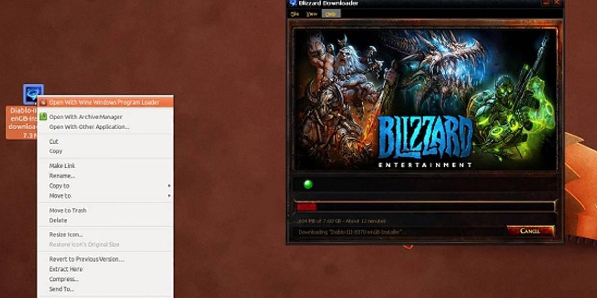Linux + Wine + Diablo III = BAN