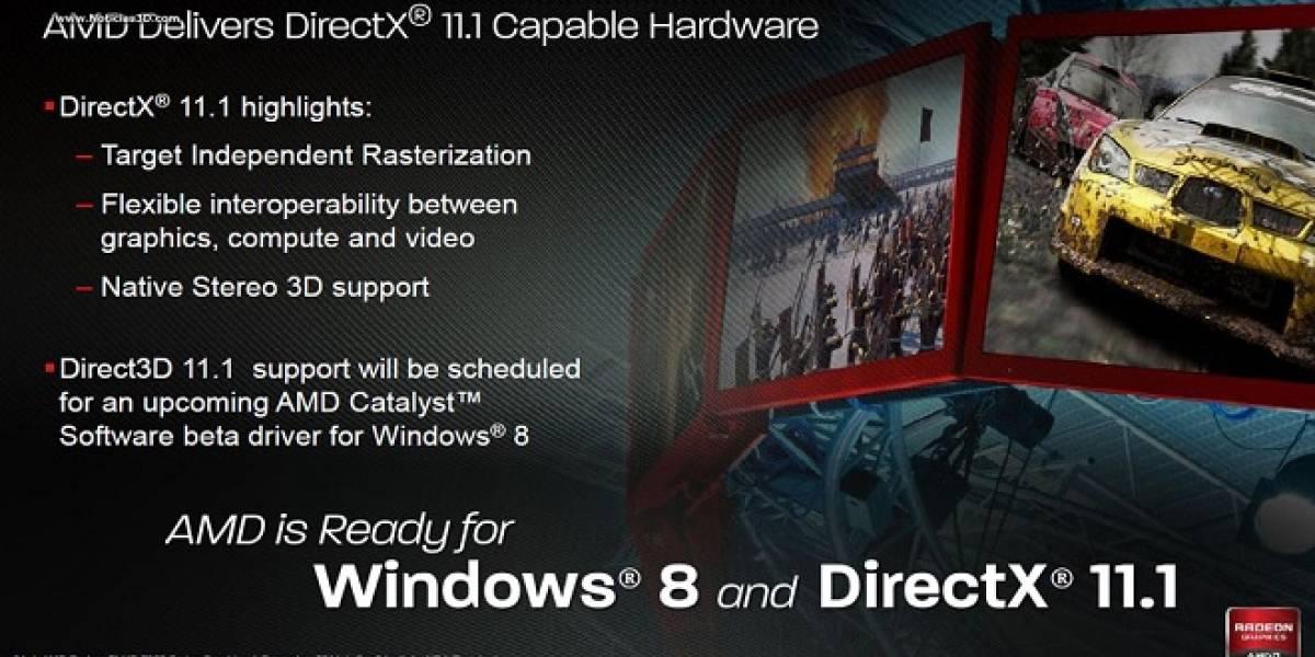 Windows 7 no será compatible con el API Microsoft DirectX 11.1