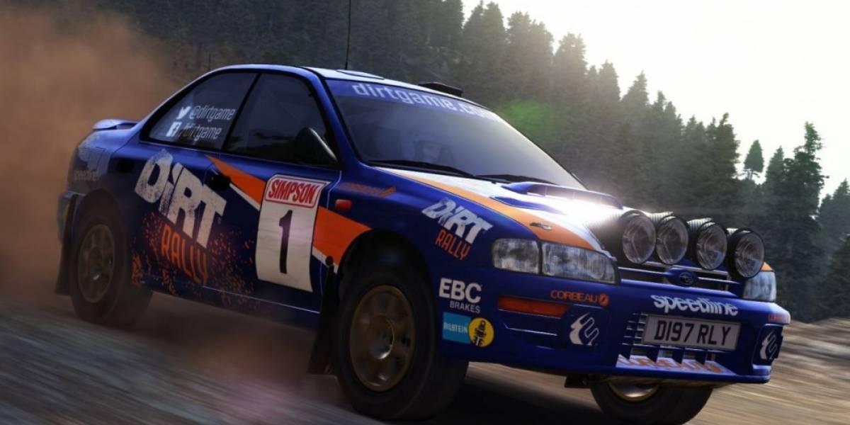 DiRT Rally ya tiene fecha de lanzamiento en Xbox One y PS4