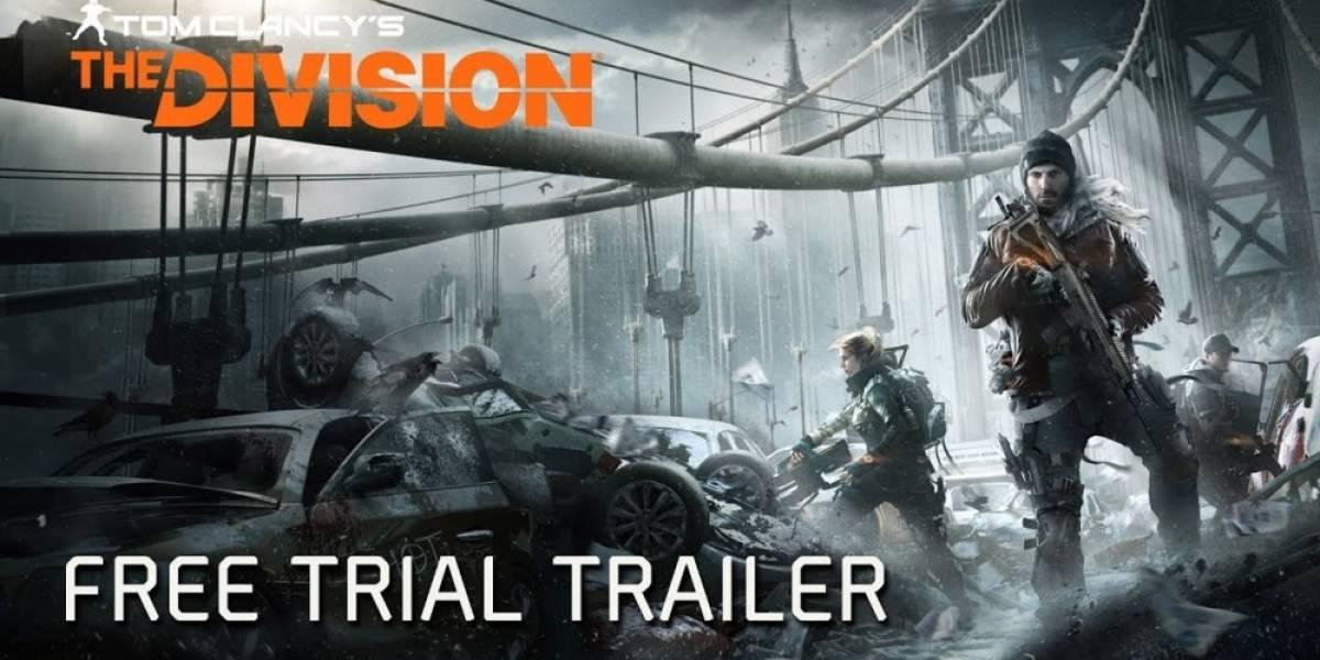 The Division tendrá prueba gratuita en Xbox One, PC y PS4