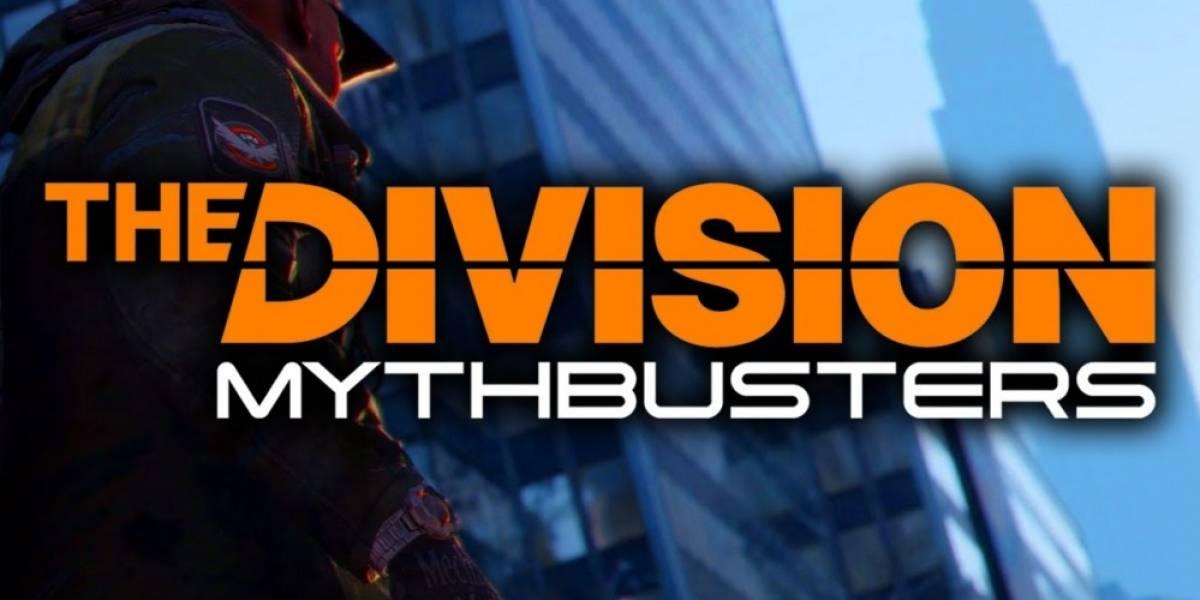 Los cazadores de mitos en The Division