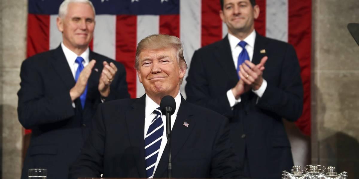 """Trump pronuncia este martes su discurso sobre el """"estado de la Unión"""""""