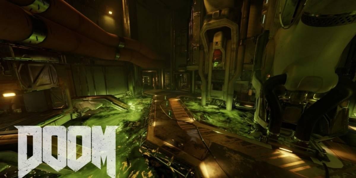 Doom recibe nuevo tráiler que nos muestra sus mapas multijugador