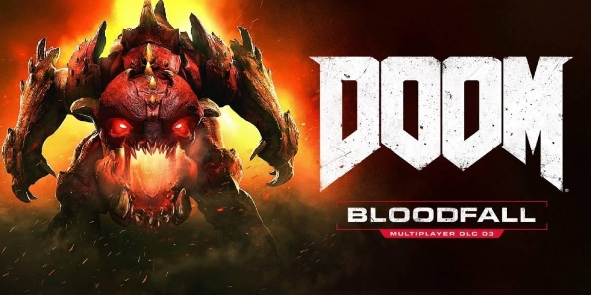 DOOM recibe la expansión Bloodfall antes de lo planeado