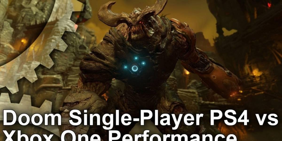 ¿En qué consola se ve mejor Doom?