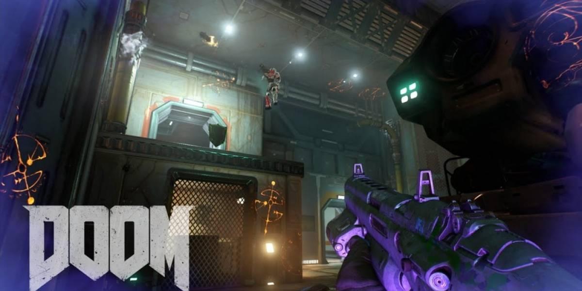 Tráiler de Doom nos presenta sus demonios, armas especiales y potenciadores