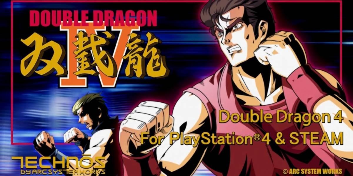 Double Dragon IV recibe nuevo tráiler que destaca sus características