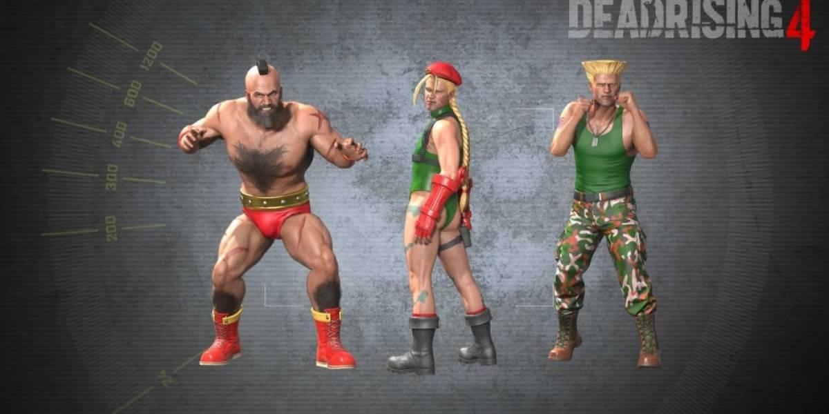 Dead Rising 4 recibirá vestuarios de Street Fighter y nuevos modos de dificultad