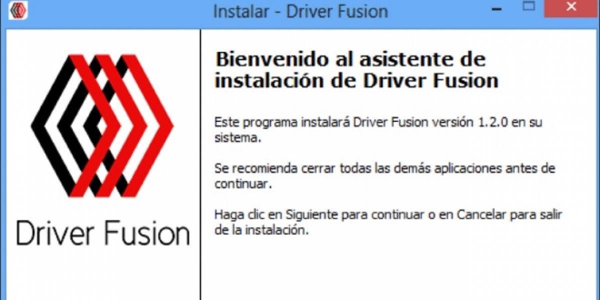 Treexy lanza su utilidad Driver Fusion 1.2.0