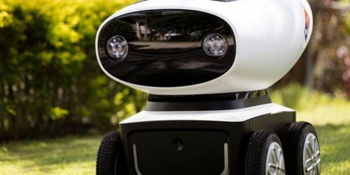 Este es el primer robot repartidor de pizzas