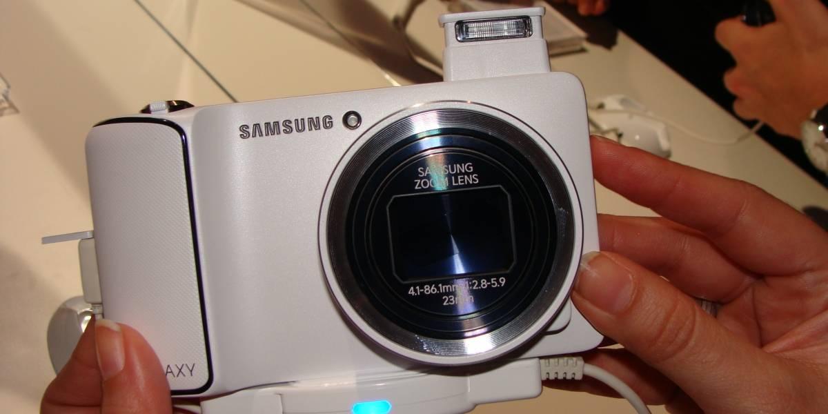 IFA 2012: Samsung Galaxy Camera, con Android 4.1, a primera vista