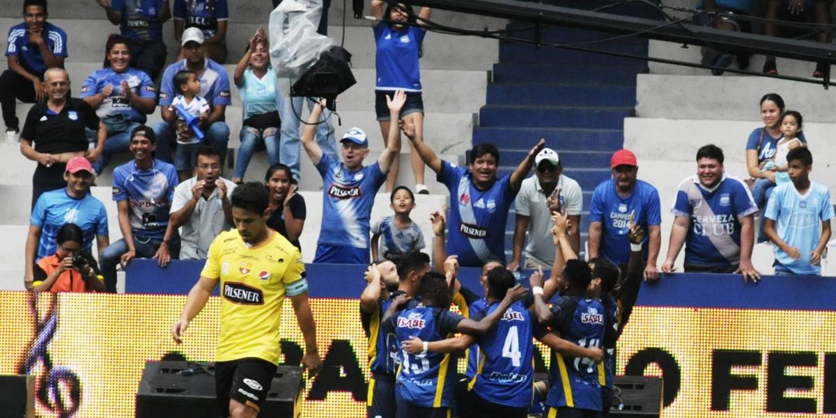 Delfín Sporting Club derrotó al Barcelona SC en la Copa del Pacífico