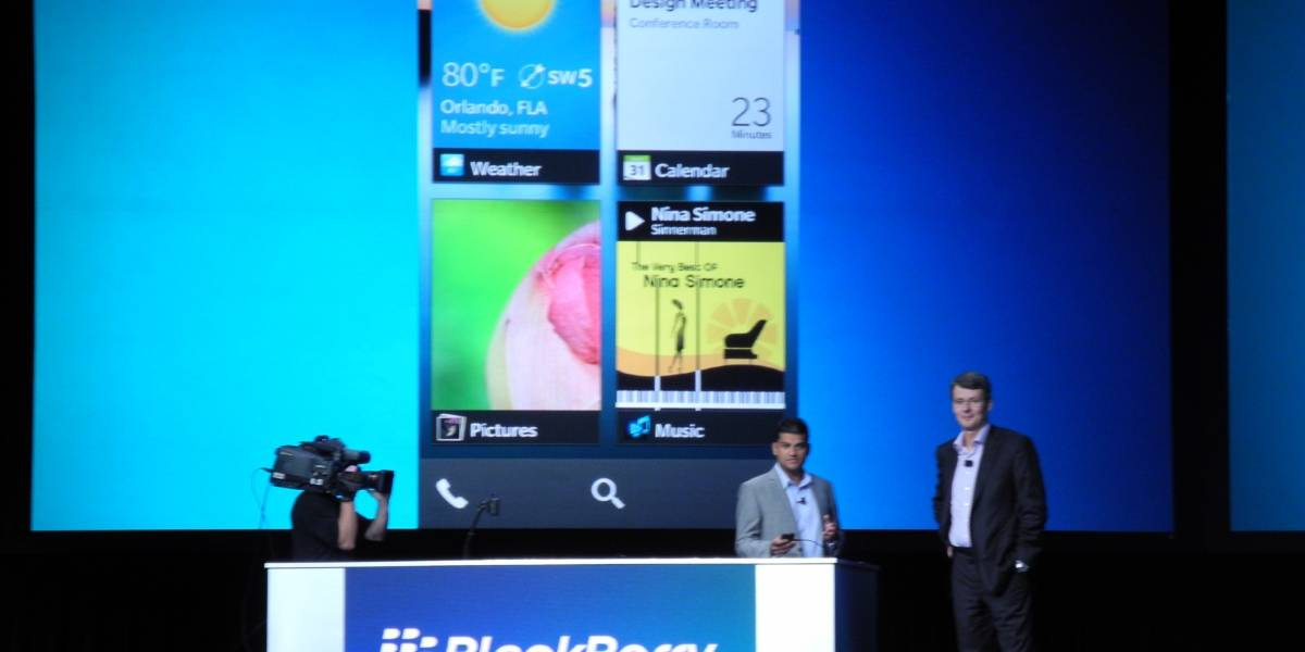 BBWC: Así será BlackBerry 10