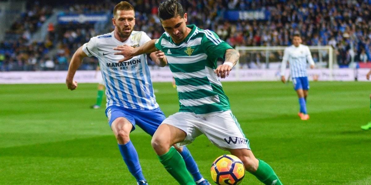 Felipe Gutiérrez fue desvinculado del Betis y quedó libre a un día del cierre del libro de pases en Europa