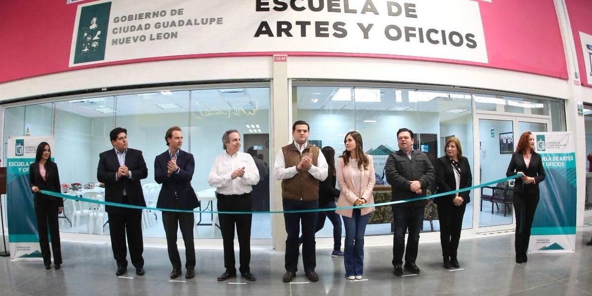 Guadalupe pone en marcha Escuela de Artes y Oficios para impulsar autoempleo
