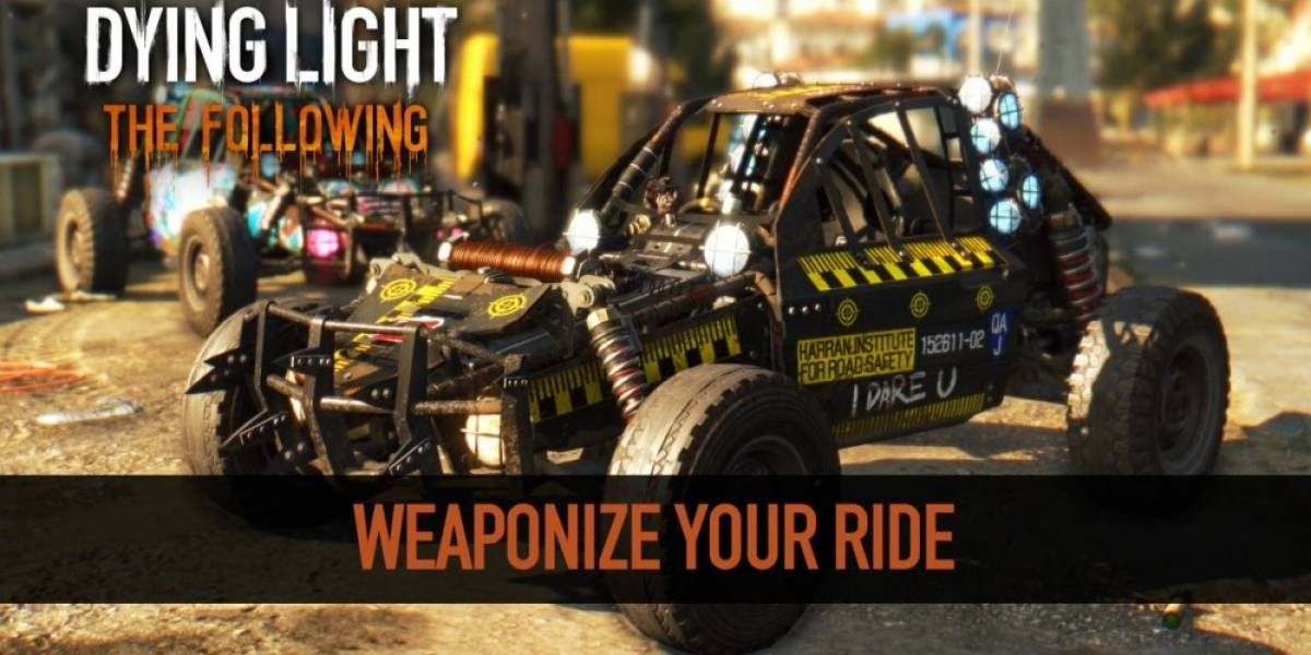 Así es como se personalizan los buggies en Dying Light: The Following