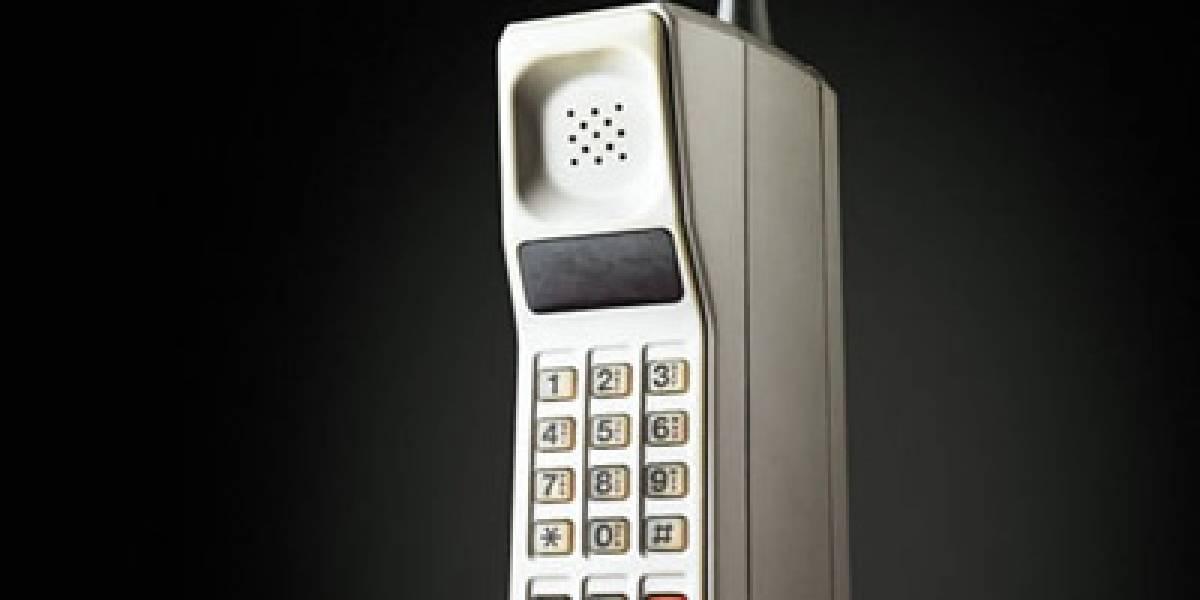 La evolución del diseño de los teléfonos 1983-2009