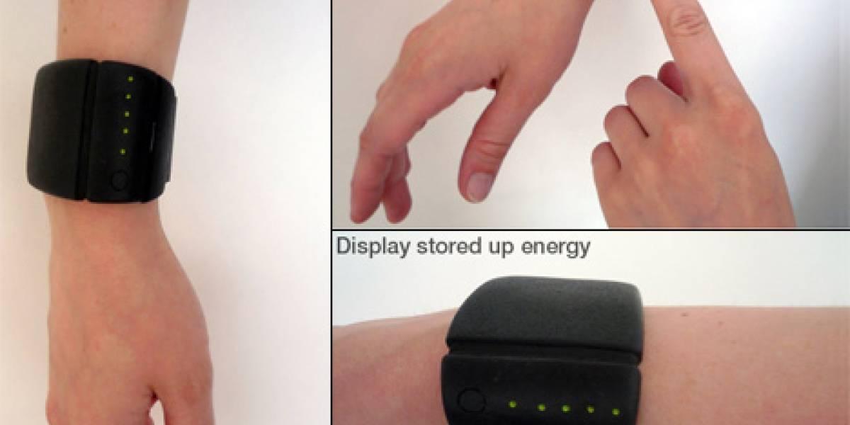 Concepto: pulsera termoeléctrica Dyson