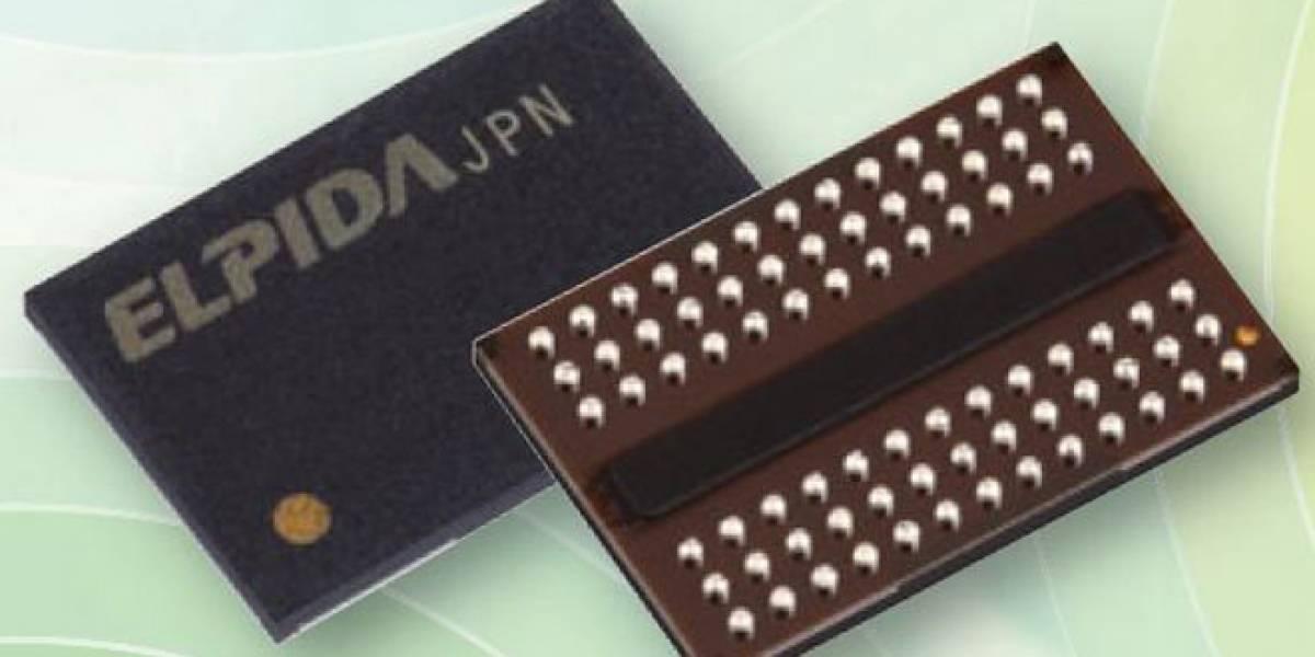 Elpida podría unir su negocio de memorias con Toshiba
