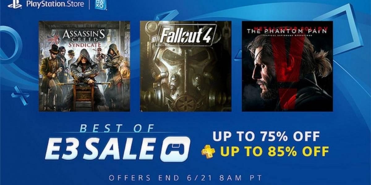 PlayStation Store tiene venta especial con lo mejor de E3