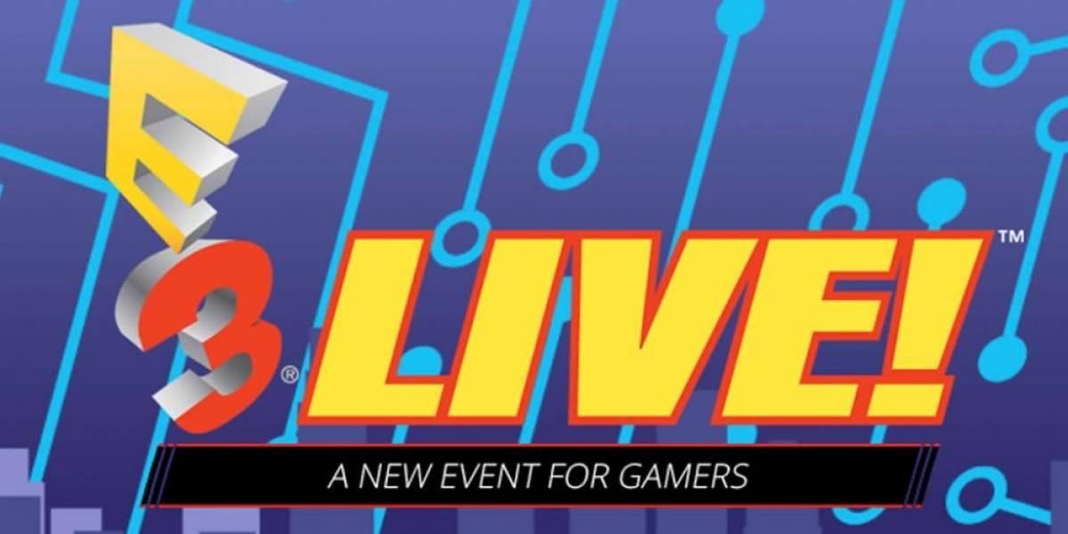 Anuncian E3 Live!, un evento abierto para todo el público