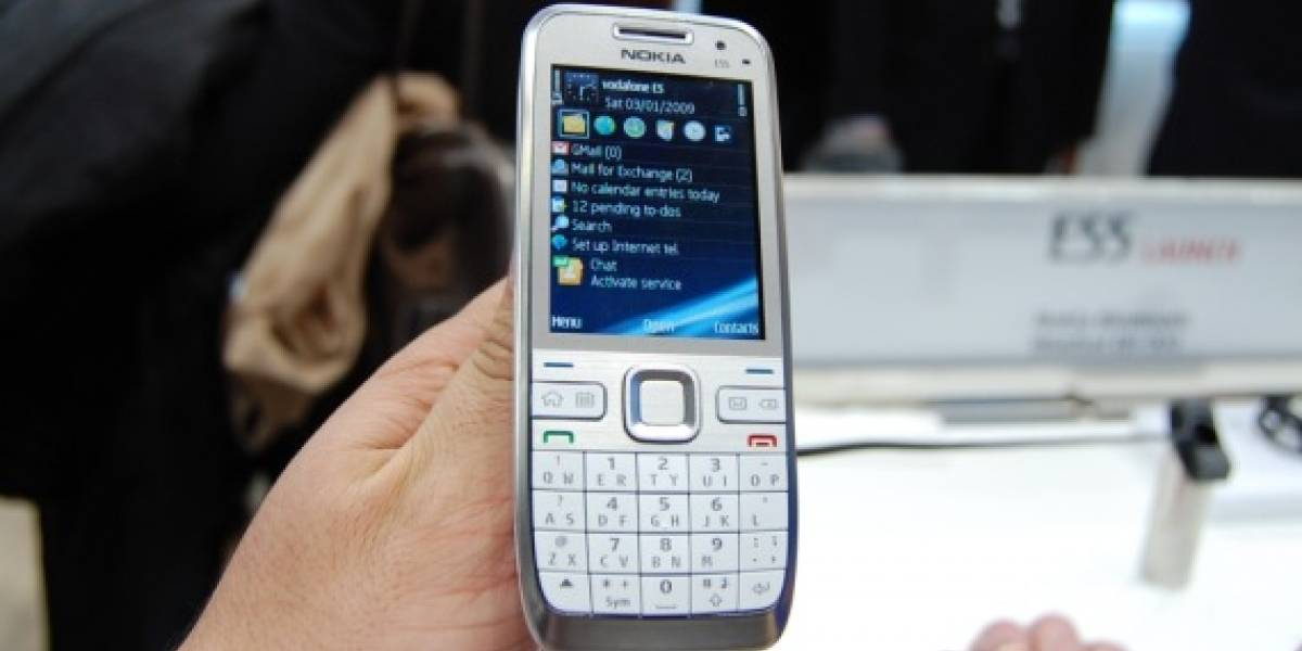 MWC09: W Galería al Nokia E55