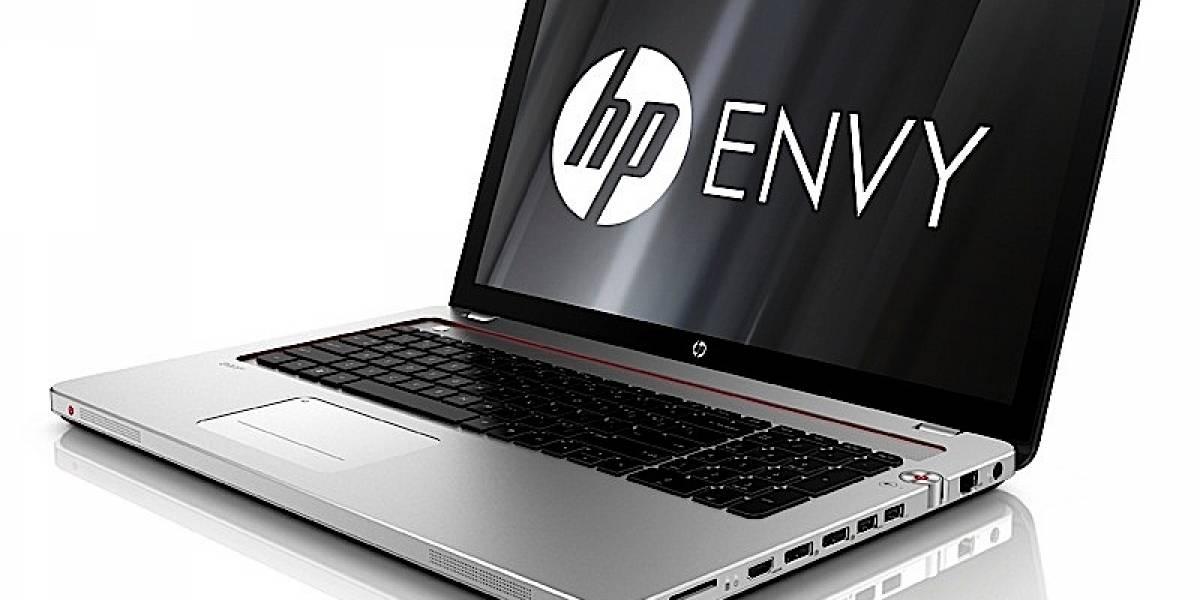 HP renueva sus portátiles Envy de 15 y 17 pulgadas