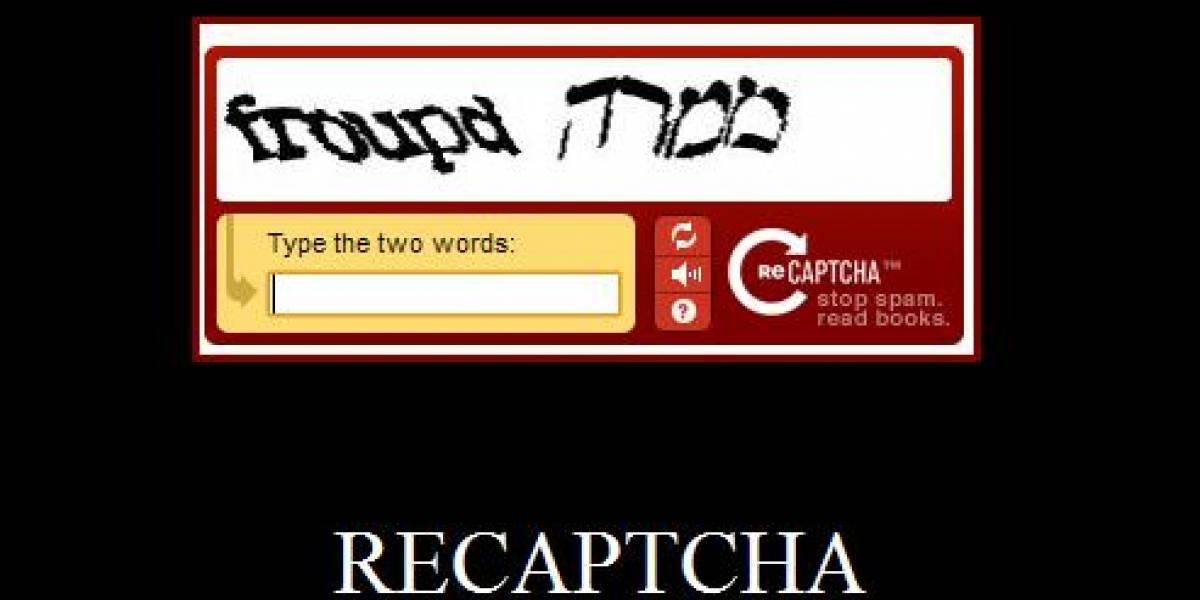 ReCaptcha vs NuCaptcha