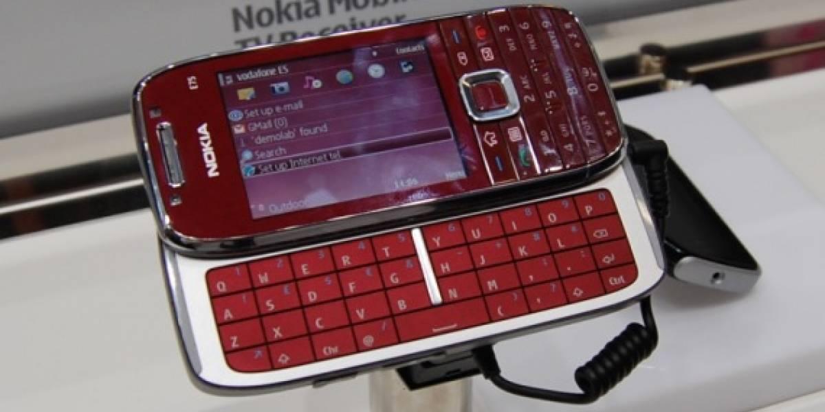 MWC09: W Galería Nokia E75