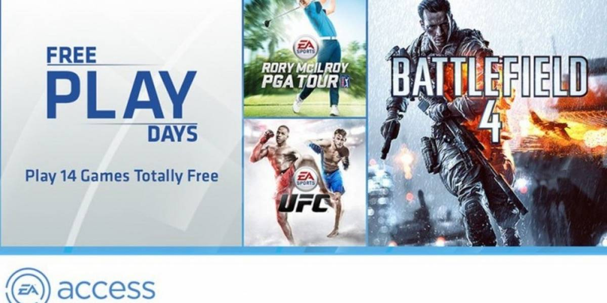 La próxima semana los usuarios Gold podrán jugar gratis los juegos de EA Access