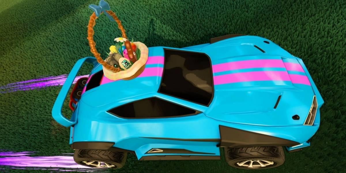 Rocket League regalará accesorios de Pascua esta semana