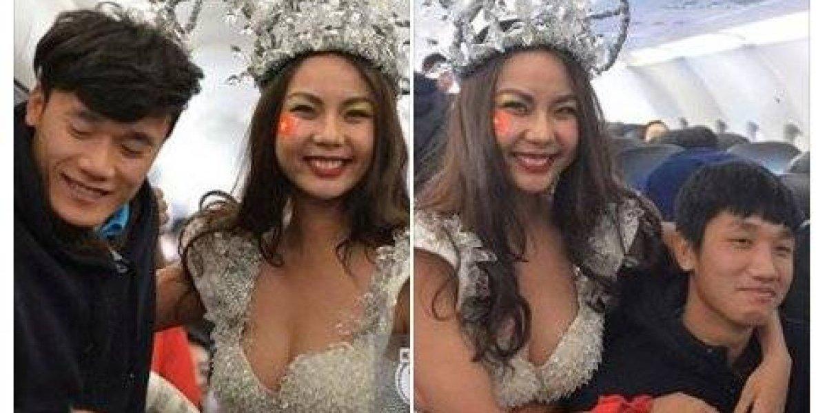 Selección de Vietnam es sorprendida con desfile de azafatas