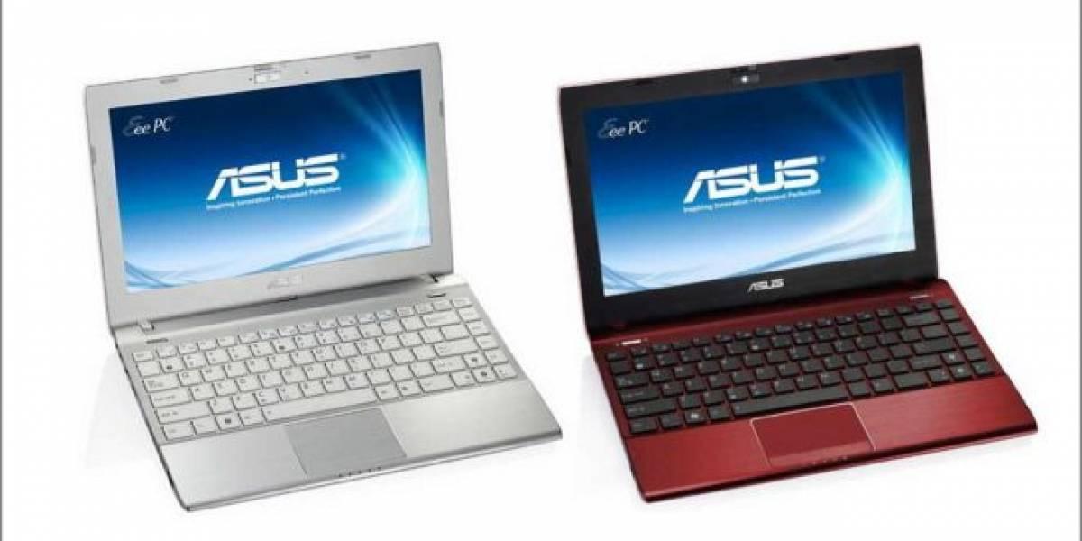 Asus Eee PC 1225B: Netbook basada en los APU AMD C-60 y E-450