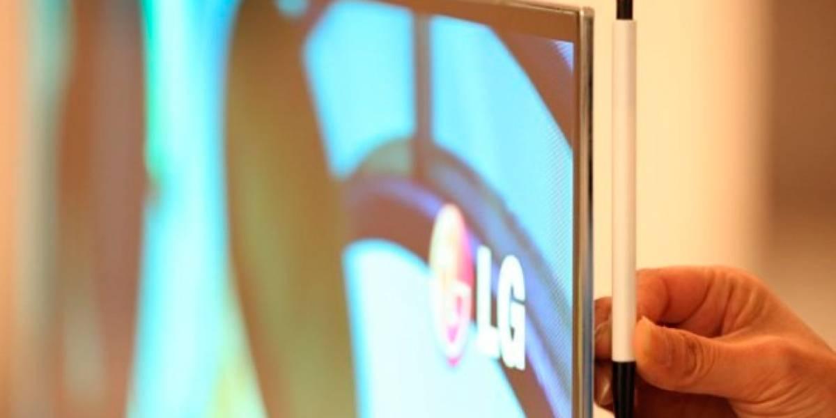 El televisor OLED más grande del mundo se presenta en la [CES 2012]