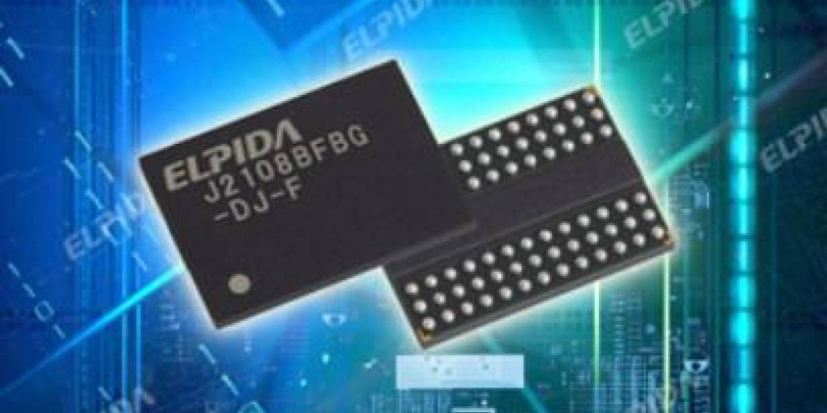 Elpida empieza a distribuir chips DDR3 de 25nm