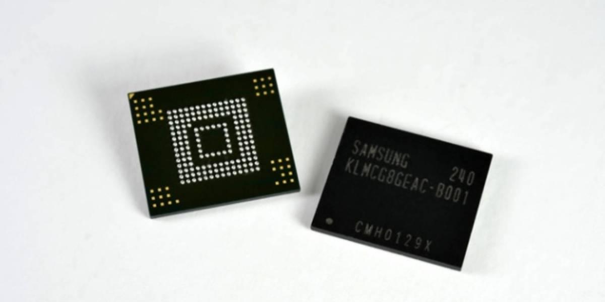 Samsung anuncia sus nuevas memorias eMMC de 64 GB Pro Class 2000