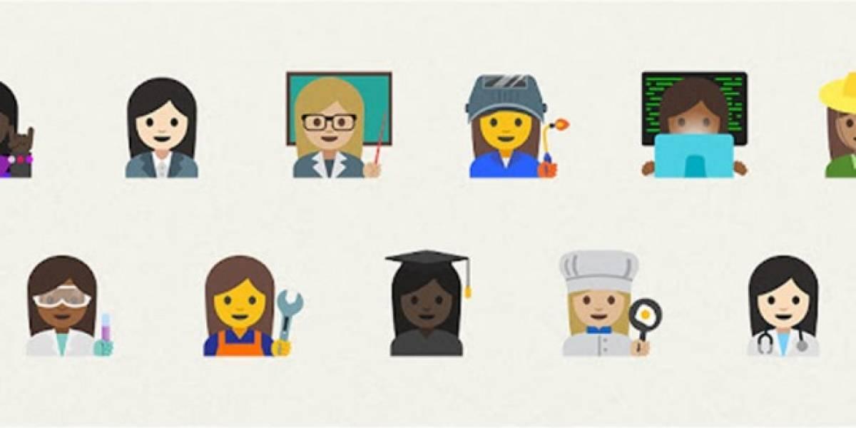 Presentan nuevos emojis a favor de la equidad de género