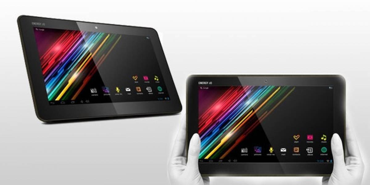 La española Energy Sistem anuncia su nueva tablet Android 's10 Dark Iron'