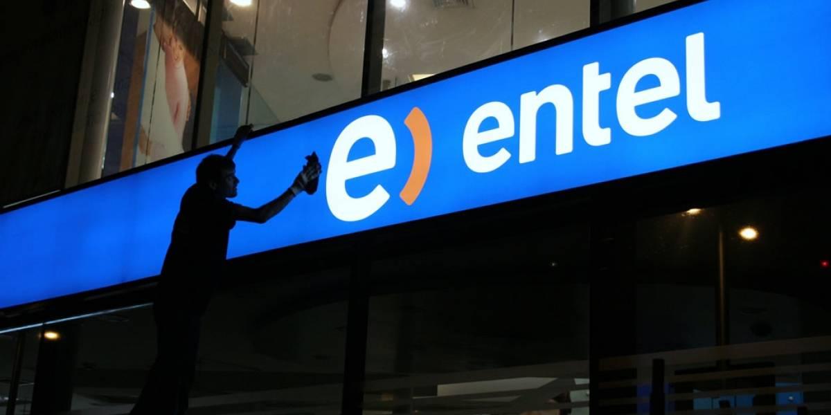 Reportan caída masiva de la señal de Entel en Chile